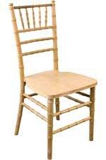 Resin Chiavari Chair Gold