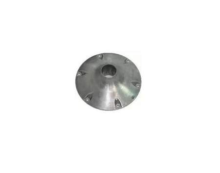 KNOCKDOWN ALUMINIUM COUPLER WITH SCREWS