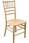 RESIN CHIAVARI CHAIR GOLD