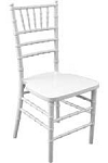 RESIN CHIAVARI CHAIR WHITE