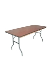 PLYWOOD 6' FOLDING TABLE