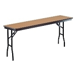 PLYWOOD 6' SEMINAR FOLDING TABLE 72