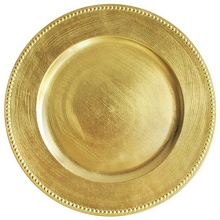Charger plate Classic studded Color GOLD