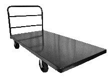 LONG TABLE CART - ALL METAL BED