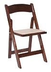 WOOD FOLDING CHAIR FRUITWOOD