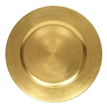 Charger plate classic style GOLD