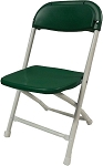 KIDS PLASTIC FOLDING CHAIR GREEN
