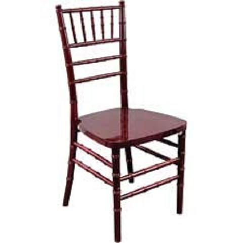 RESIN CHIAVARI CHAIR MAHOGANY