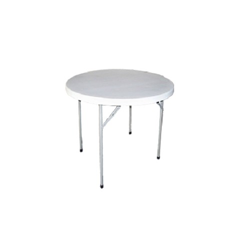 "RESIN 48"" ROUND FOLDING TABLE"