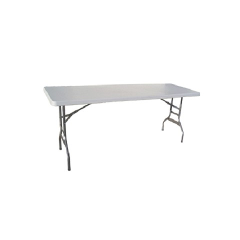 RESIN 8' RECTANGULAR FOLDING TABLE