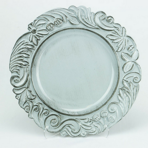 Charger plate Aristocrat Design Color LIGHT GREY