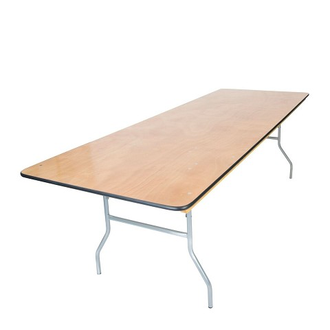 Wide 8' Banquet Table
