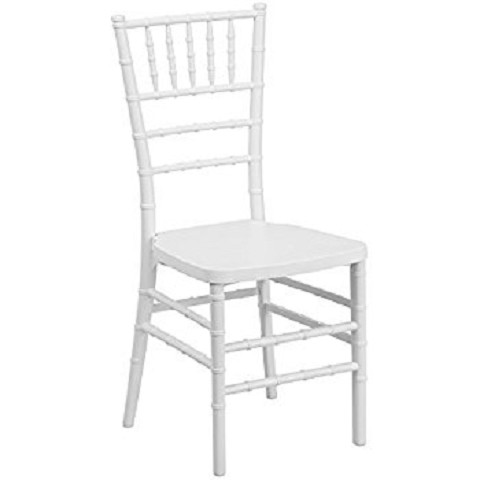 Wood Chiavari Chair - Pearl/Silla tiffany de madera color perla.