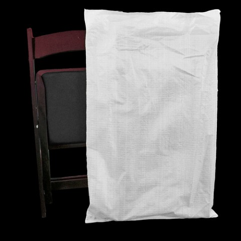 Folding chair rice bags