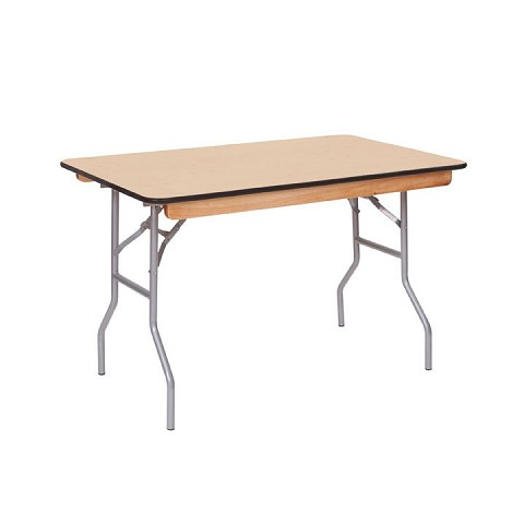 4' Plywood Banquet table